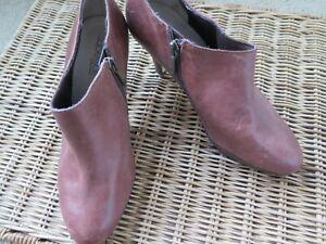 DIANA FERRARI Sz 5.5 Dark Brown Leather