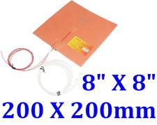 8 X 8 200 X 200mm 200w Cube Prusa I3 Reprap 3d Printer Heated Bed Silicone Pad