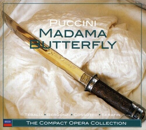 1 of 1 - Carlo Bergonzi, G. Puccini - Madame Butterfly [New CD] Digipack Packaging