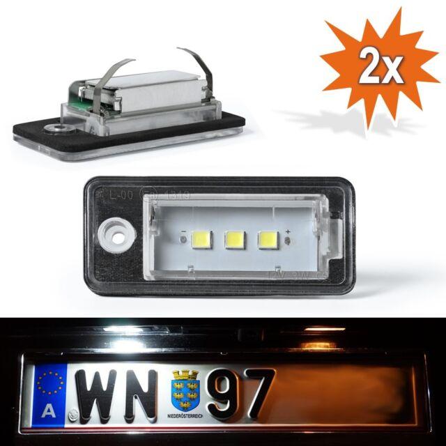 LED Kennzeichenbeleuchtung Leuchte Audi A3 8P A4 B6 B7 A5 A6 4F Q7 4L C015050