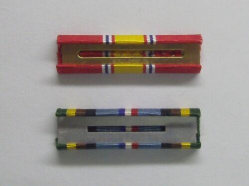 "U.S National Defense /& Expeditionary Service Ribbon Bar 3//8/"" Lot"