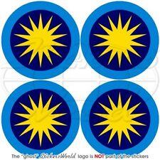 "MALAYSIA Royal Malaysian AirForce TUDM Aircraft Roundel 50mm (2"") Stickers x4"