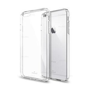 Dettagli su Custodia Cover Morbida Trasparente Air Gel Per Apple iPhone 6/6s PLUS Pellicola