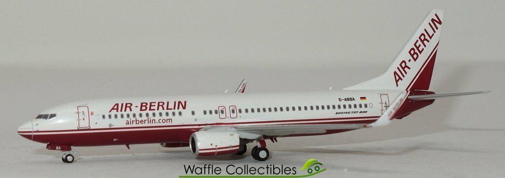 comprar nuevo barato 1 400 NG Modelos Air Berlin B 737-800 737-800 737-800 D-Abba avión 78236 58018  nuevo   en Stock   elige tu favorito