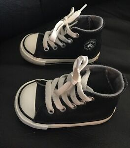 Boys Toddler Size 4 High Top Leather