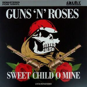 Guns-N-Roses-Sweet-Child-O-Mine-Live-LP-2018-Musicbank-NEW-180grm-vinyl