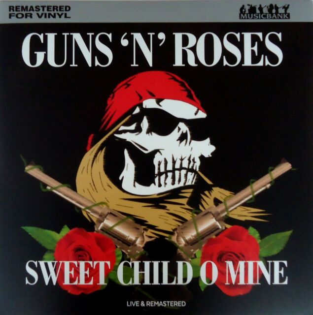 Guns And Roses Sweet Child Of Mine Live Lp Uk Import 180 Grm For