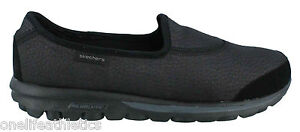 Skechers-Gowalk-Ultimate-Walking-Shoes-Womens-Casual-Shoes-Black-go-walk