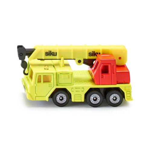 NEU Blister ° Siku 1326 Hydraulischer Kranwagen leuchtend gelb