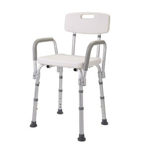 Height Adjustable Medical Shower Chair Bathtub Bench Bath