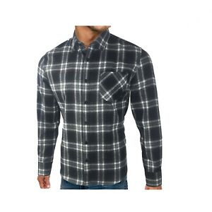 XXXX-L M/&S Mens Flannel and Brushed Cotton Checked Shirt Royal Blue