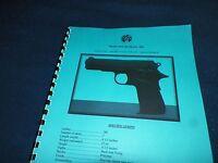 Llama Micro-max, 380acp, Automatic Pistol Manual, 11 Pages