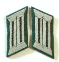 WW2 GERMAN ARMY OFFICER COLLAR TABS PIONEERS/ENGINEERS