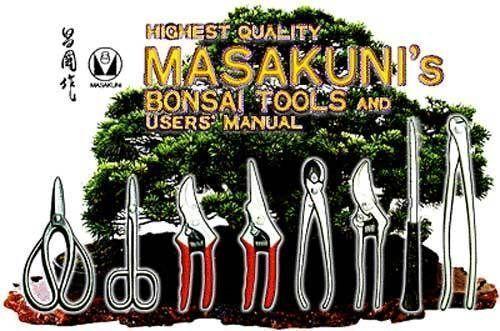 MASAKUNI BONSAI TOOLS LONG HANDLE WIRE SHEAR 0309 Made in Japan