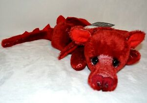 """Dolls & Bears Contemplative Kaycee Bear Dragon Flame 20"""" Number 2 Of Only 15 Made"""