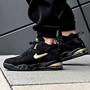 Nike Air Force Max CB Black Gold Sz 7