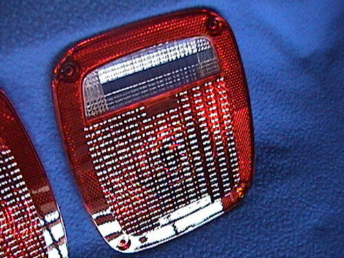 1 Pair Rear Tail Light Lenses 80 90 91 92 93 94 97 00 Fits Jeep GMC Chevy Truck