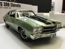 1970 CHEVROLET CHEVELLE SS 396 ACME GUYCAST 1:18 SEA MIST GREEN GMP DIECAST CAR