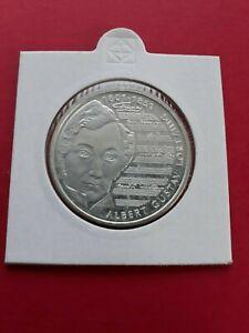 10-DM-Silbergedenkmuenze-Albert-Gustav-Lortzing-1801-1851-2001-J-Stempelglanz