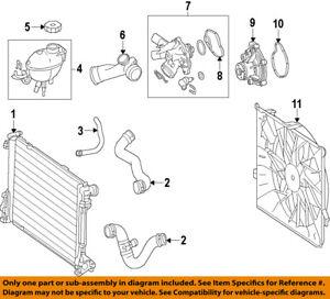 mercedes oem 12 15 c250 engine water pump 2712001001 ebay ford 302 water pump diagram image is loading mercedes oem 12 15 c250 engine water pump