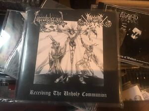 Necroholocaust-Manticore-Receiving-the-Unholy-Communion-Split-EP-Blasphemy