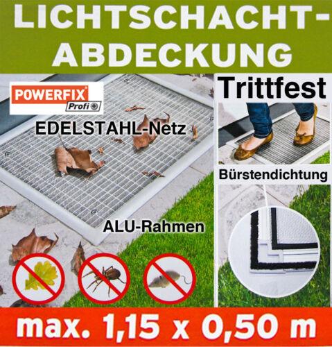 Powerfix Profi Lichtschachtabdeckung Licht Abdeckung Schacht Insekten Schutz NEU