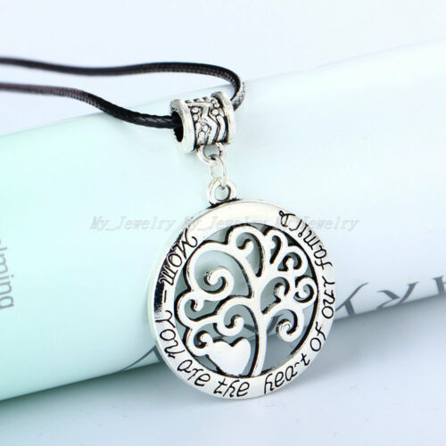 925 Sterling Silver Tree Of Life Necklace Pendant Earrings Wedding Jewelry Charm