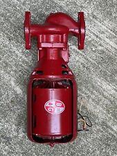 Bell Amp Gossett Series 100 Cast Iron Booster Pump 106189 Made In Usa