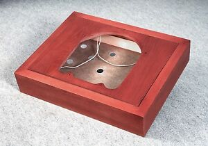 """12/"""" inches tonearms rotating armboard Plinth for turntable Garrard 301 for 9/"""""""