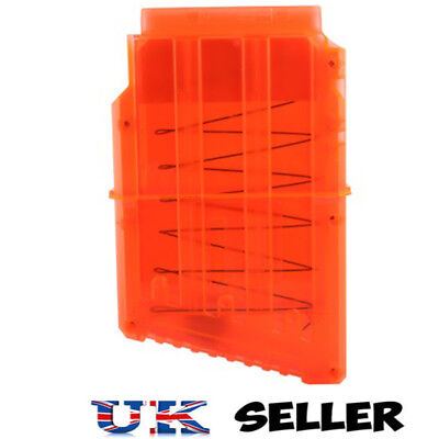 Magazine Clip Replacement with 6 darts for Nerf N-Strike Mega Centurion Blaster
