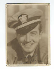 Vintage 1939 JOHN PAYNE Handsome DBW 5x7 Portrait 20TH CENTURY-FOX Studio SIGNED