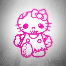 Hello Kitty Zombie Gracioso Ventana de Coche Decal Sticker JDM Euro