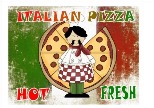 Italian Pizza Sign Pub Sign Cafe Sign Pizza Sign Design Kitchen Sign