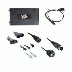 06-13 upgrade factory oem harley davidson radio add bluetooth