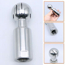 1//2 Inch Thread Female Cleaning Spray Ball Stainless Steel Sanitary U9E9 2X
