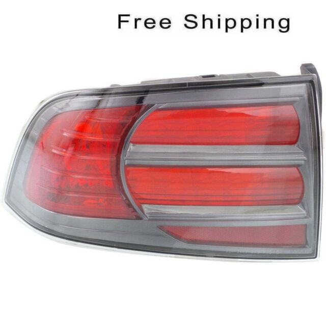 Tail Lamp Lens And Housing Driver Side Fits Acura TL Type