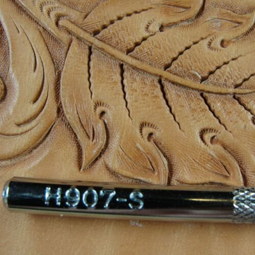 Leather Stamping Tool #H907-S Extra Small Stop Stamp Steel Craft Japan
