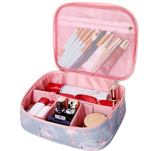 854e1f36cf Image is loading New-Women-Multifunction-Travel-Cosmetic-Bag-Makeup-Case-