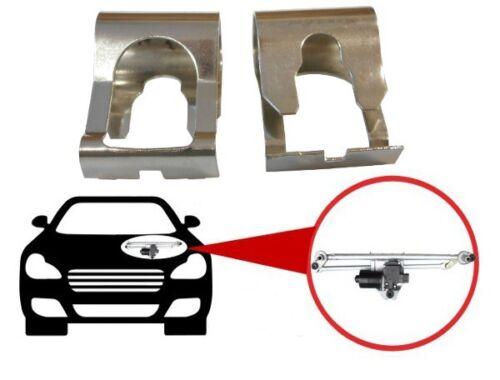 2x für BMW X1 E84 X3 E83 F25 Scheibenwischer Gestänge Reparatur Klammer Kit