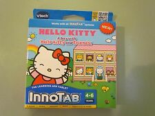 NEW SEALED INNOTAB VTECH HELLO KITTY A DAY WITH AND FRIENDS 2012