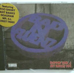 ANT BANKS RAPPIN RON SEALED BAD N-FLUENZ CD CELL BLOCK G FUNK TOO SHORT 90's RAP