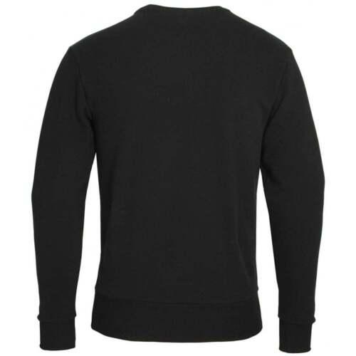 Ellesse regular fit ronde met Diveria hals katoenen en zwart sweatshirt rUq1r