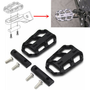 Black-CNC-Motorcycle-Foot-Peg-Extender-Pedal-Rest-for-BMW-R1200GS-G310GS-S1000XR