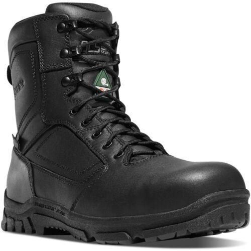 "Danner Men/'s 23826 Lookout EMS//CSA Side-Zip 8/"" Black Comp Toe NMT Tactical Boots"