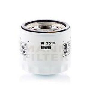 Oil Filter MANN-FILTER W7015