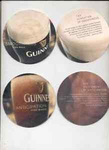 2 GUINNESS    EXPORT-COASTERS    voor   SPANJE      R / V    /