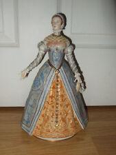 """Exquisite Sitzendorf Figura """"Catherine de Medici"""" 1519-1589 ~ 1st qualità ~ EXC"""