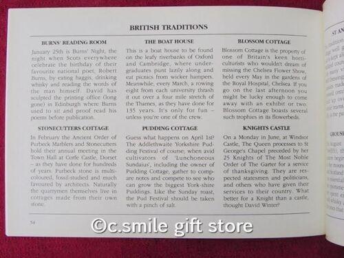 DAVID WINTER COTTAGES *Collectors Pocket Book* 1989 Excellent Condition RARE!