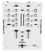 Epsilon - INNO-Mix2 - Ultra Compact Pro DJ Battle Mixer - White