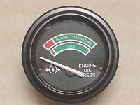 Stewart Warner Maxima 24v Oil Pressure Gauge 831391 118992 463f -gp